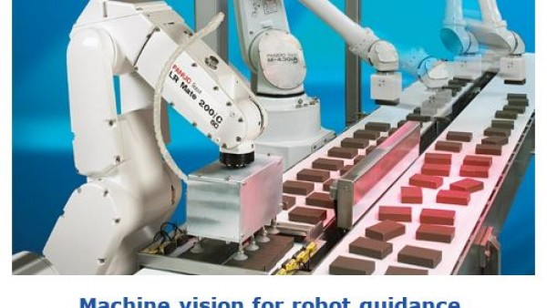 3D制导视觉引导机器人-汽车零件的取放