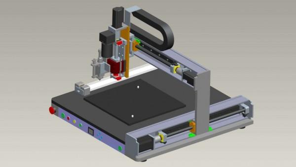 视觉点胶机系统介绍