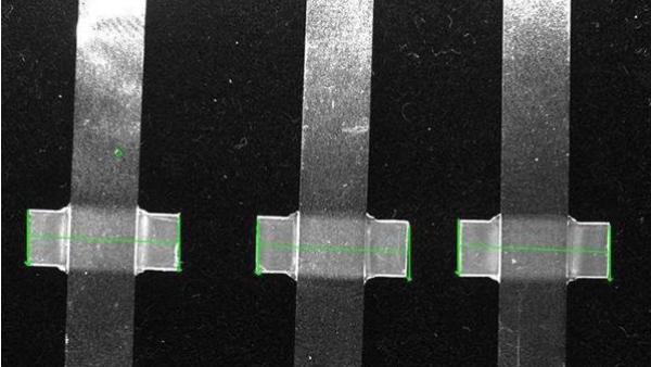 CCD锂电池极片检测设备,锂电池极片外观缺陷识别系统