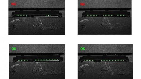 CCD视觉检测设备-电子连接器缺陷检测