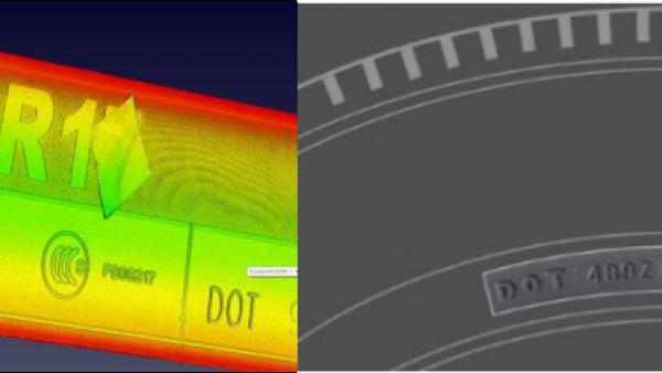 3D轮胎读码视觉检测识别方案
