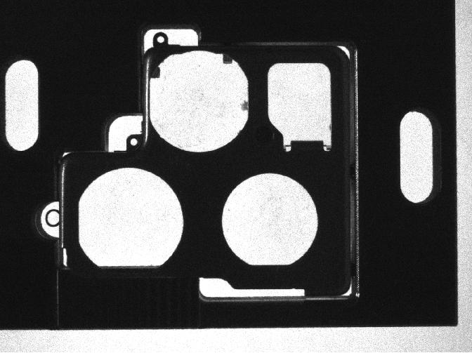 支架螺孔定位采用机器视觉技术方案