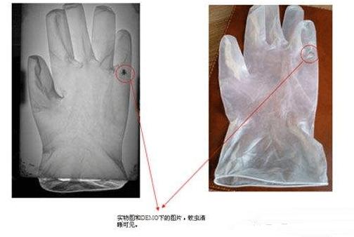 PVC手套外观缺陷检测,PVC手套视觉检测方案-机器视觉_视觉检测设备_3D视觉_缺陷检测