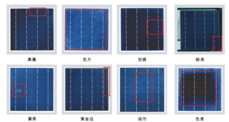 太阳能硅片视觉检测,硅片外观缺陷检测方案-机器视觉_视觉检测设备_3D视觉_缺陷检测