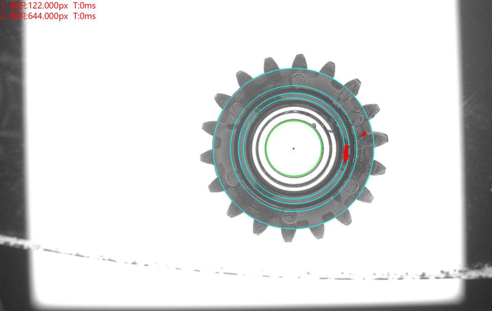 齿轮外观瑕疵缺陷视觉检测方案(表面缺陷检测设备)-机器视觉_视觉检测设备_3D视觉_缺陷检测