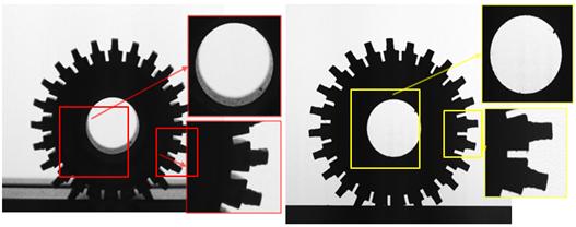 电机齿轮检测,电机齿轮外形轮廓尺寸视觉检测-机器视觉_视觉检测设备_3D视觉_缺陷检测