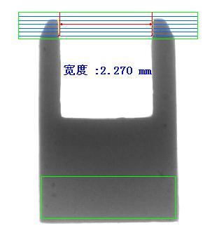 U型陶瓷部件瑕疵缺陷视觉检测设备方案-机器视觉_视觉检测设备_3D视觉_缺陷检测